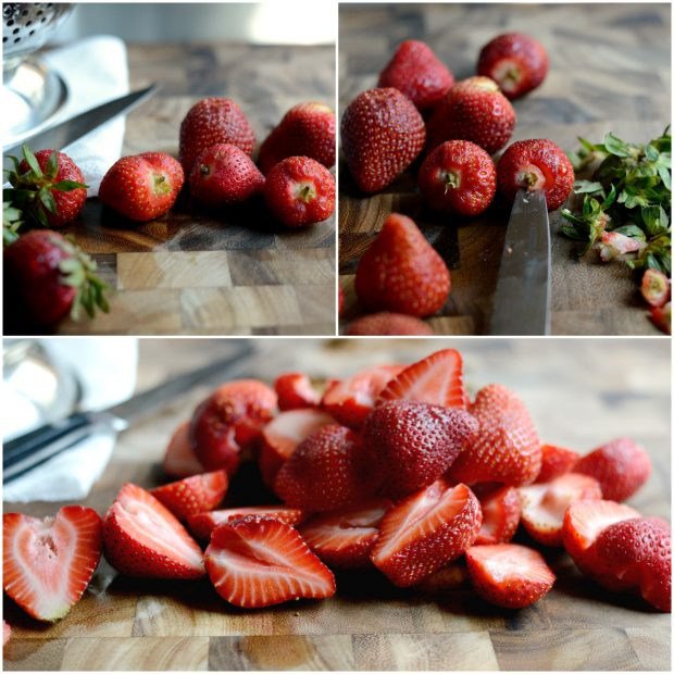 Strawberry + Goat Cheese Salad with Crispy Fried Quinoa l SimplyScratch.com (33)