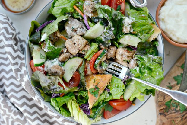 Chicken Tawook Salad with Lemon Sumac Dressing l SimplyScratch.com (20)