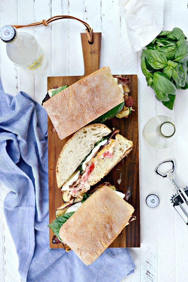 Grilled BZMT Sandwich + Sriracha Garlic Aioli l SimplyScratch (027)