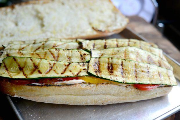 Grilled BZMT Sandwich + Sriracha Garlic Aioli l SimplyScratch (12)