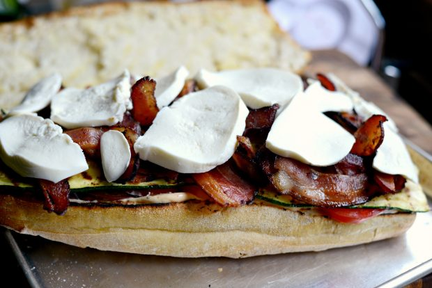 Grilled BZMT Sandwich + Sriracha Garlic Aioli l SimplyScratch (14)