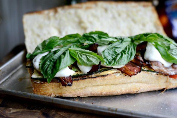 Grilled BZMT Sandwich + Sriracha Garlic Aioli l SimplyScratch (17)