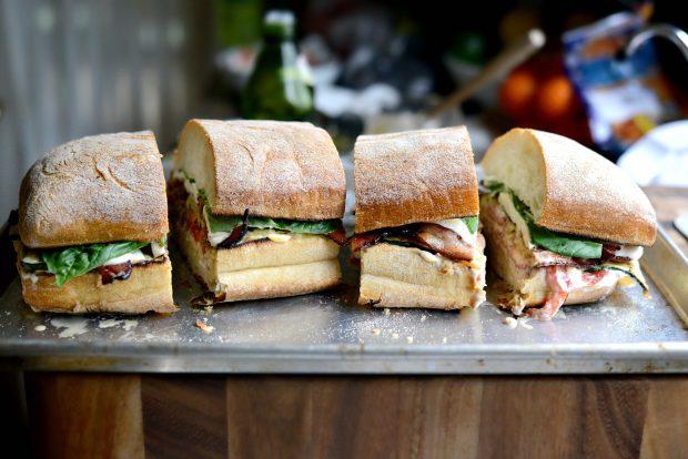 Grilled BZMT Sandwich + Sriracha Garlic Aioli l SimplyScratch (19)