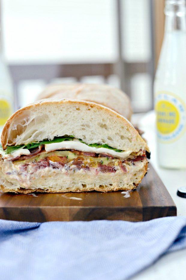 Grilled BZMT Sandwich + Sriracha Garlic Aioli l SimplyScratch (28)
