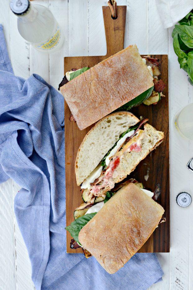 Grilled BZMT Sandwich + Sriracha Garlic Aioli l SimplyScratch (29)