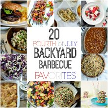 20 Fourth of July Backyard Barbecue Favorites