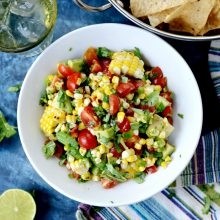 Avocado Corn Salsa l SimplyScratch.com  (15)