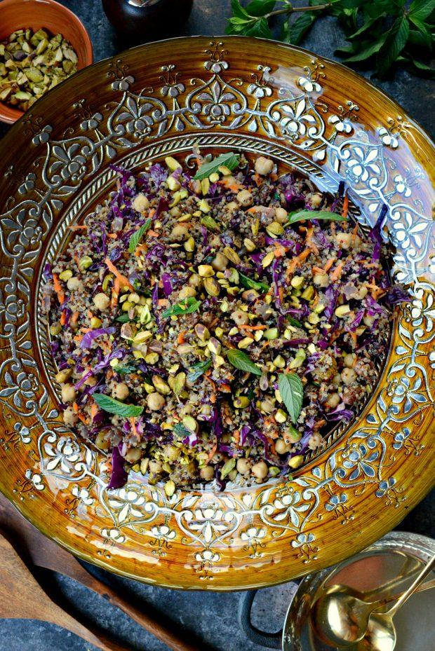 Moroccan Quinoa Pilaf l SimplyScratch.com (021)