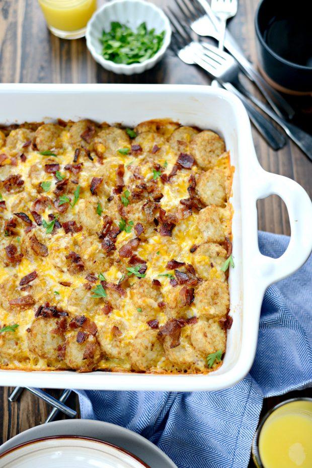 Tater Tot Breakfast Casserole l SimplyScratch.com (11)