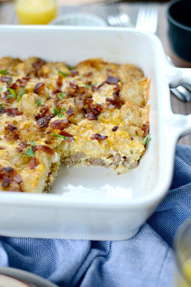 Tater Tot Breakfast Casserole l SimplyScratch.com (12)