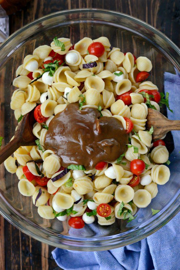 Caprese Pasta Salad l SimplyScratch.com (06)
