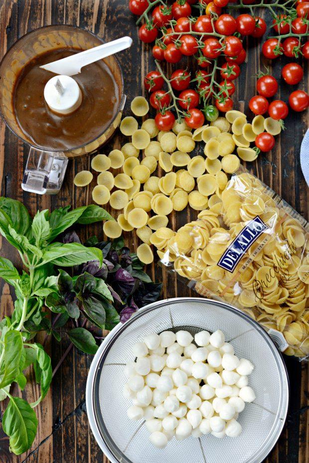 Caprese Pasta Salad l SimplyScratch.com (1)