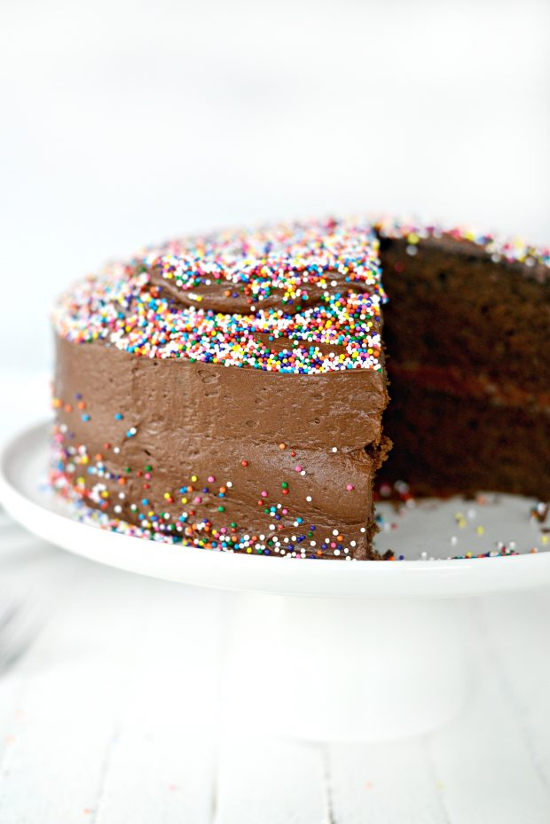 homemade-chocolate-cake-with-whipped-chocolate-almond-frosting-l-simplyscratch-com-007