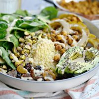 Tandoori Roasted Chickpea Squash Buddha Bowl