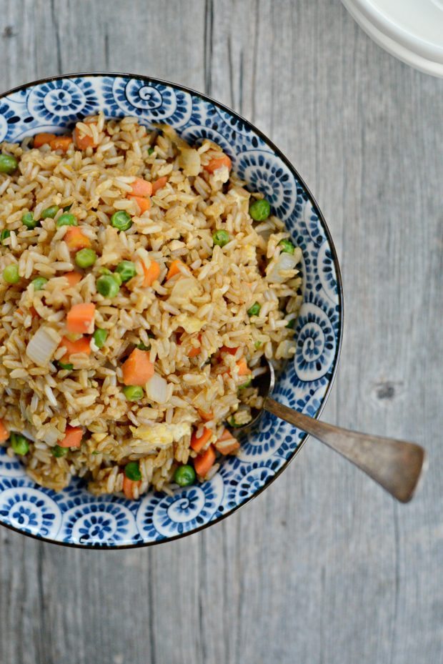 Vegetable Fried Brown Rice L Simplyscratch
