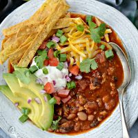 Turkey Taco Beer Chili