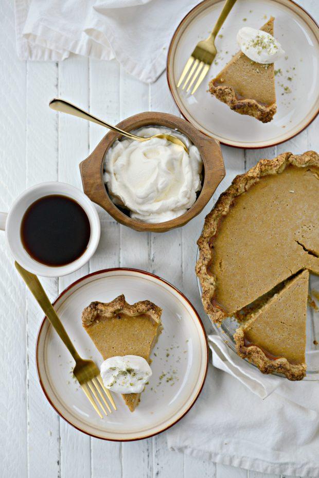 Chai Pumpkin Pie l SimplyScratch.com