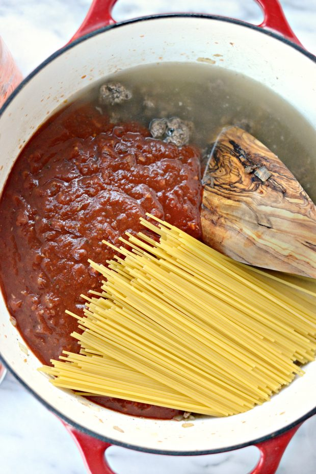 one pot spaghetti l simplyscratch.com