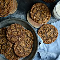 Brown Sugar Molasses Cookies