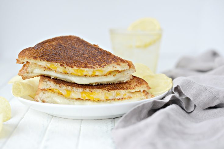 Double Decker Grilled Cheese Sandwich