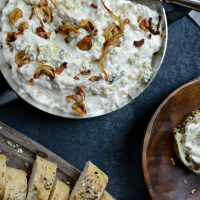 Caramelized Shallot and Blue Cheese Dip