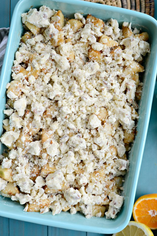 simply scratch easy apple pear crumble - simply scratch