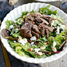 wine-braised-lamb-salad-with-pumpkin-vinaigrette-l-simplyscratch-com