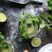 Cilantro Lime Margaritas