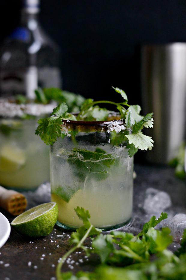 Cilantro Lime Margaritas l SimplyScratch.com (11)