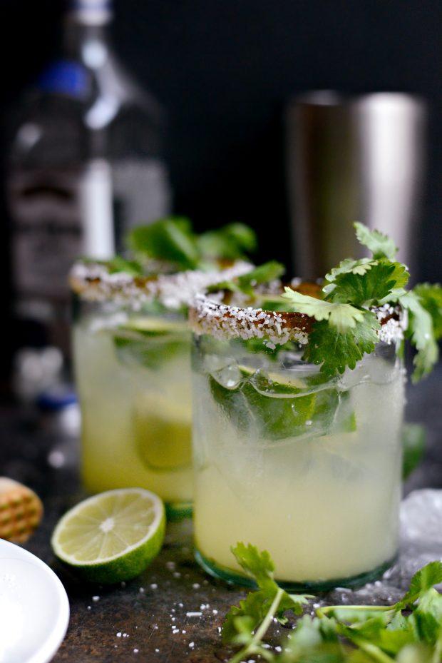 Cilantro Lime Margaritas l SimplyScratch.com (9)