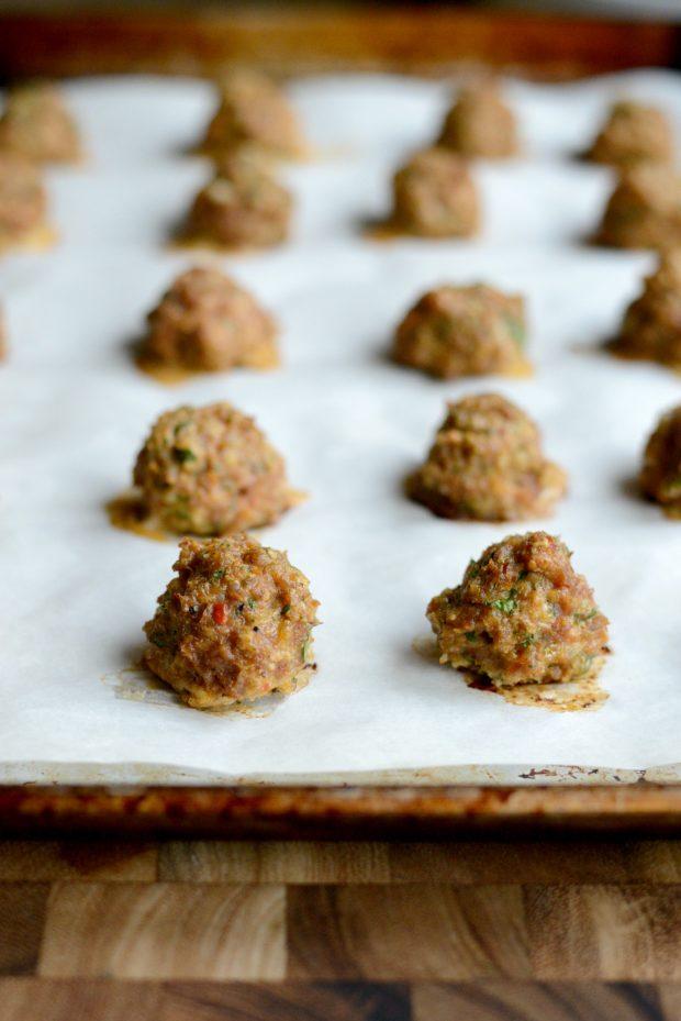 Italian Turkey Meatball Minestrone Soup l SimplyScratch.coom (18)