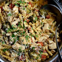 one-pan-chicken-pesto-pasta-l-simplyscratch-com-14