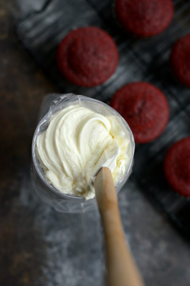 Scratch Red Velvet Cupcakes with White Chocolate Cream Cheese Frosting ...