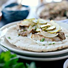 Chicken Shawarma Wraps l SimplyScratch.com 0