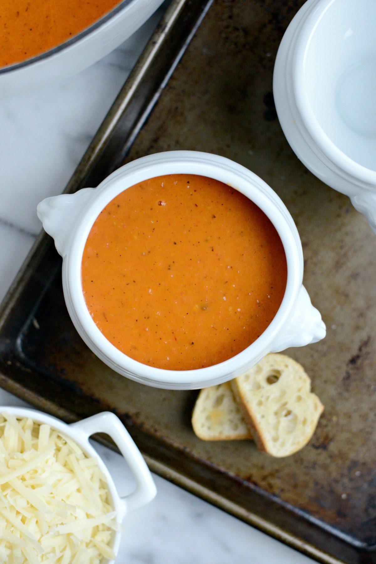 Easy Creamy Tomato Soup l SimplyScratch.com (11)