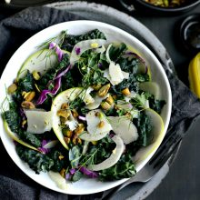 Kale, Fennel and Apple Salad l SimplyScratch.com (7)