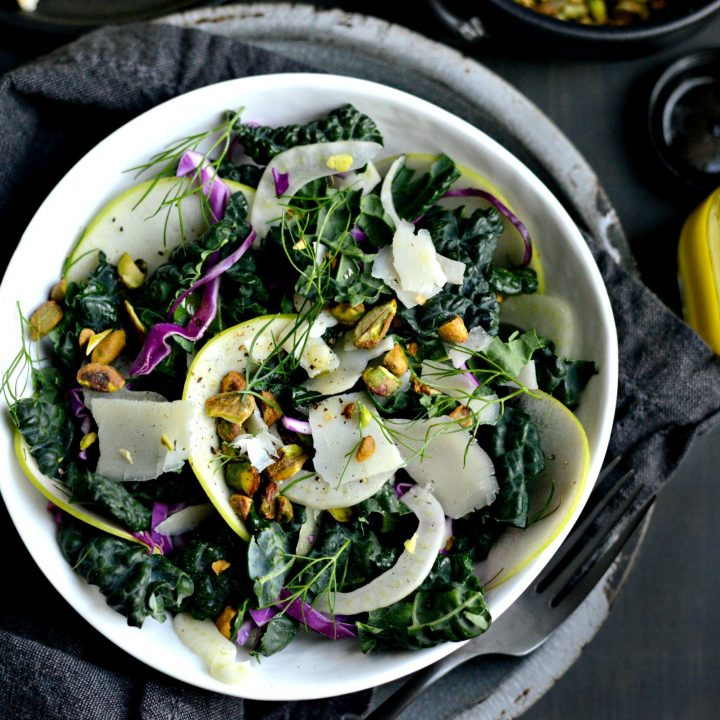 Kale, Fennel and Apple Salad