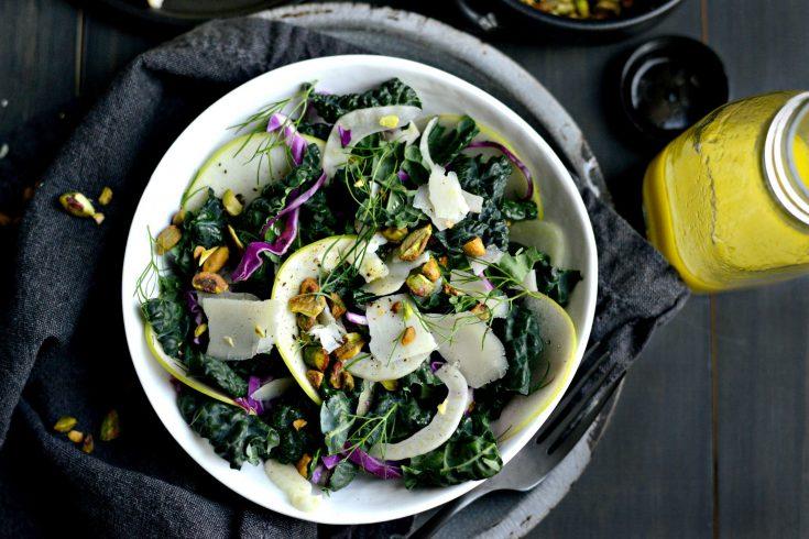 Kale, Fennel and Apple Salad