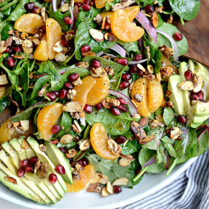 Mandarin Orange Salad with Poppy Seed Vinaigrette