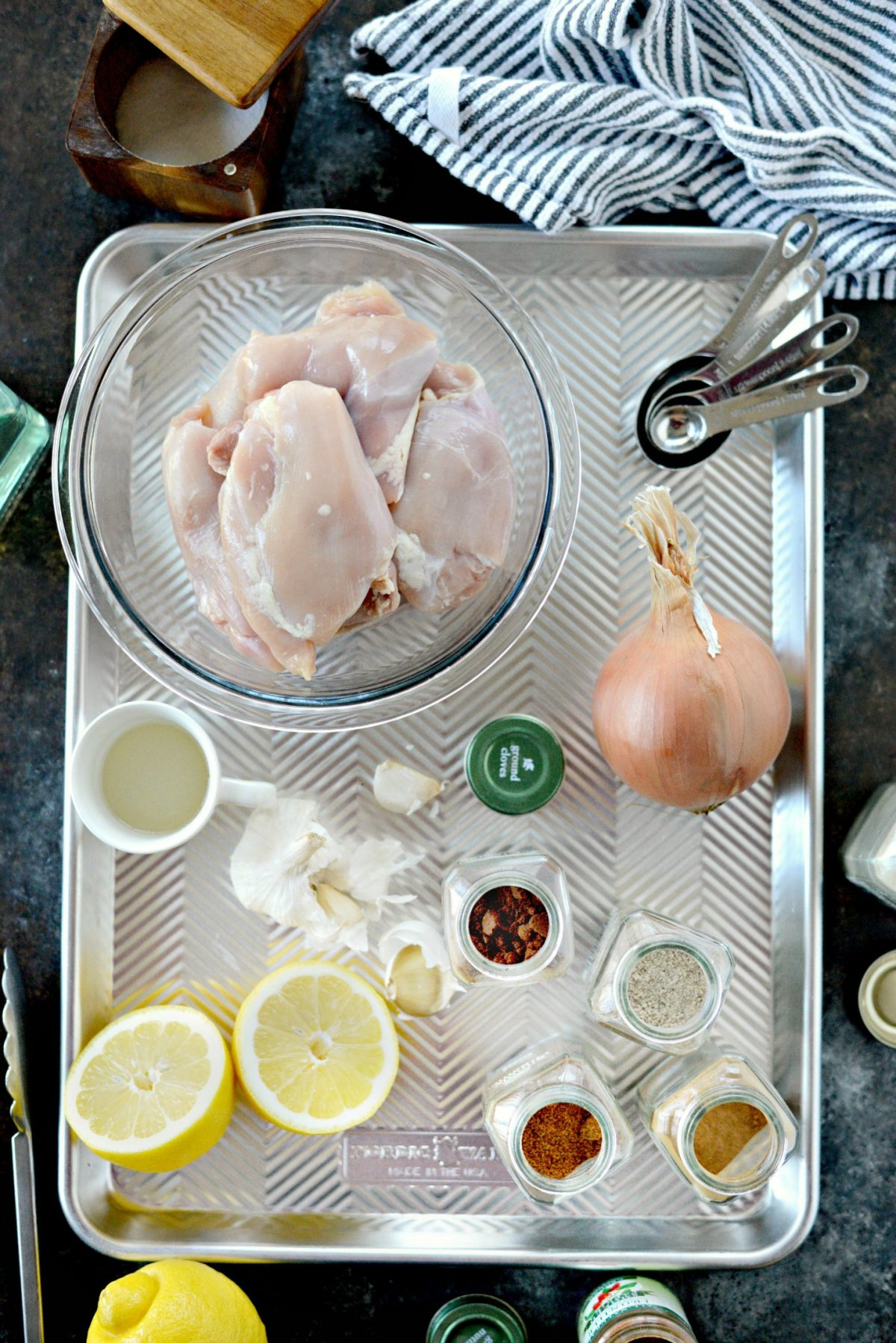 Sheet Pan Chicken Shawarma Wraps l SimplyScratch.com (1)