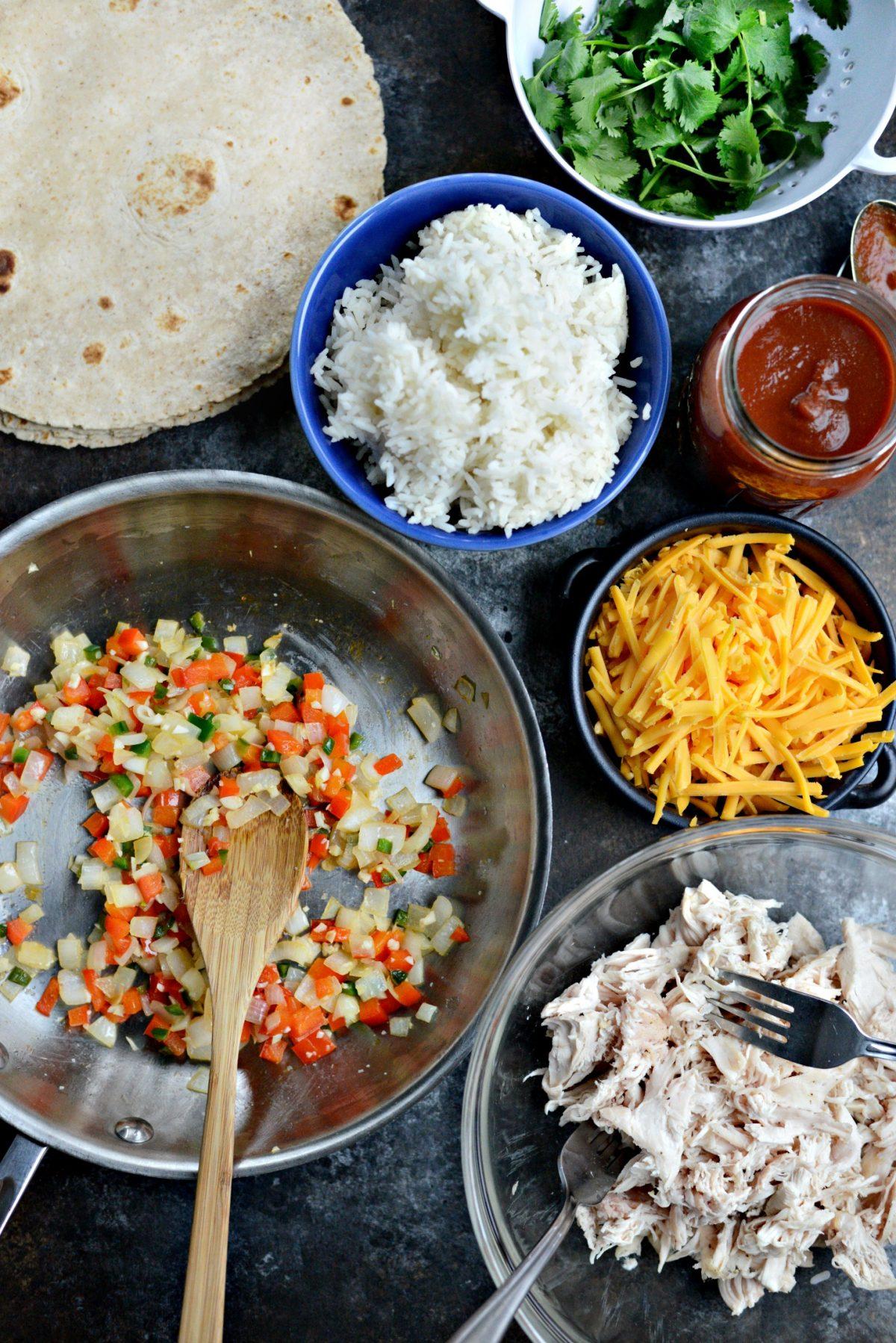 Chicken and Rice Enchiladas l SimplyScratch.com (1)