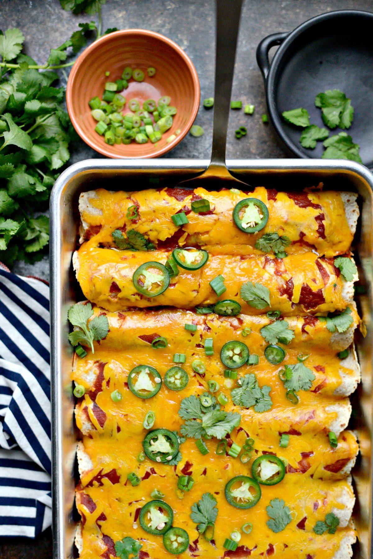 Chicken and Rice Enchiladas l SimplyScratch.com (14)