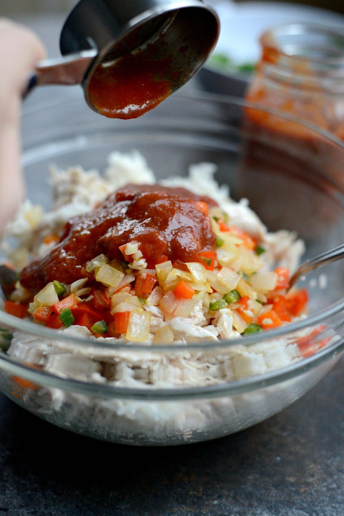 Chicken and Rice Enchiladas l SimplyScratch.com (2)