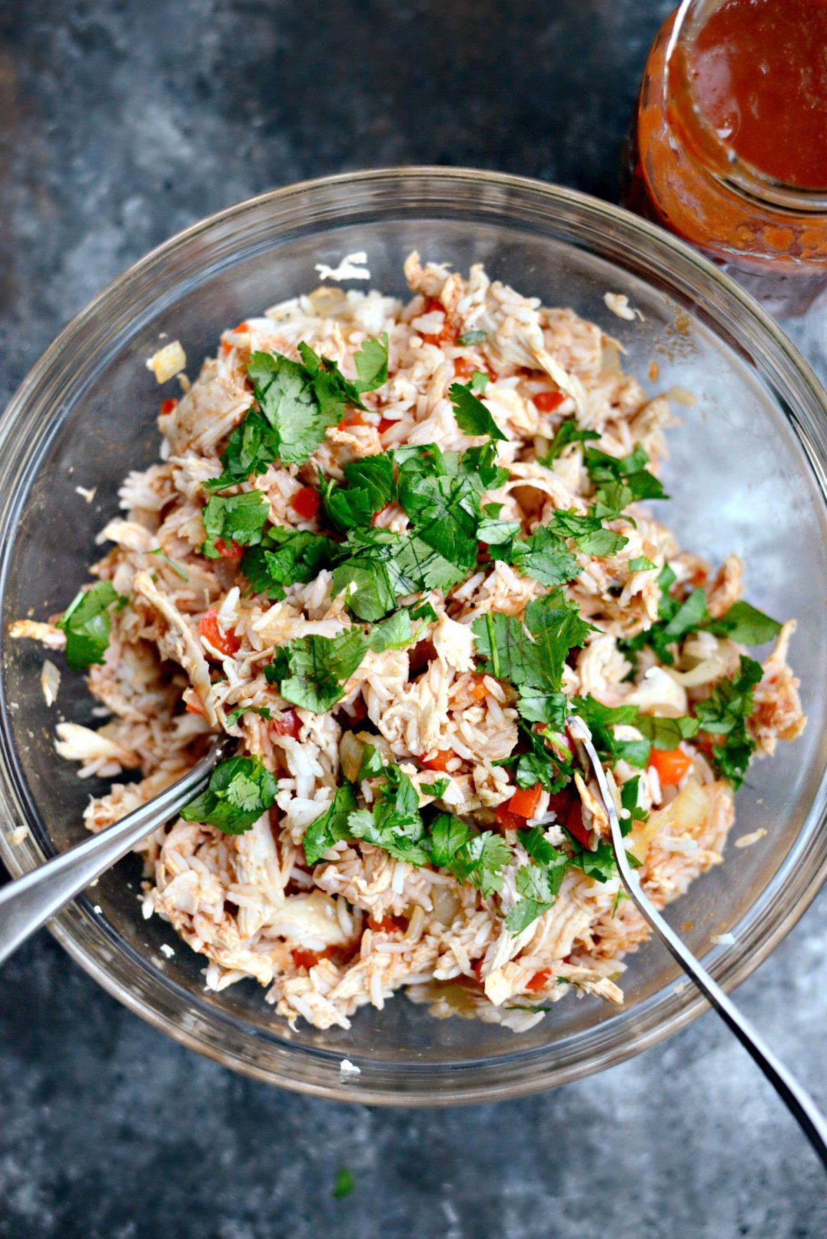 Chicken and Rice Enchiladas l SimplyScratch.com (3)