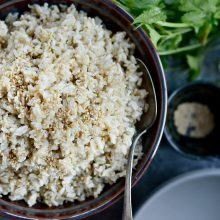 Ginger Sesame Brown Rice l SimplyScratch.com (10)