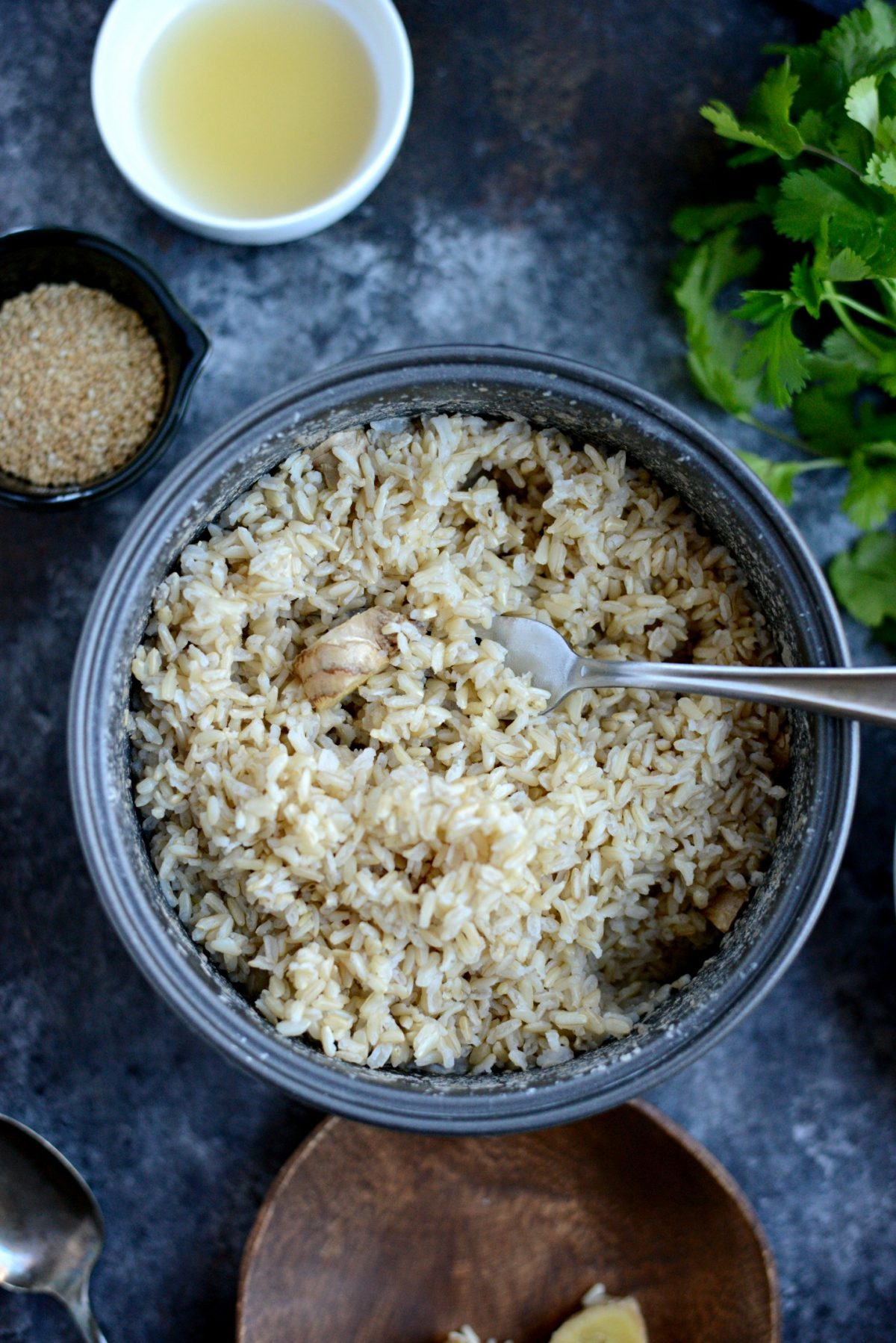Ginger Sesame Brown Rice l SimplyScratch.com (6)