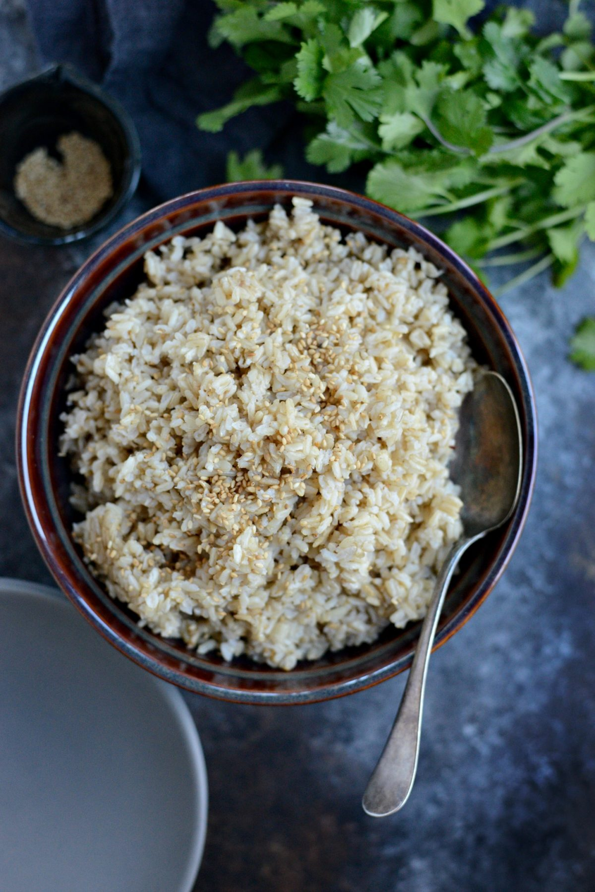 Ginger Sesame Brown Rice l SimplyScratch.com (7)