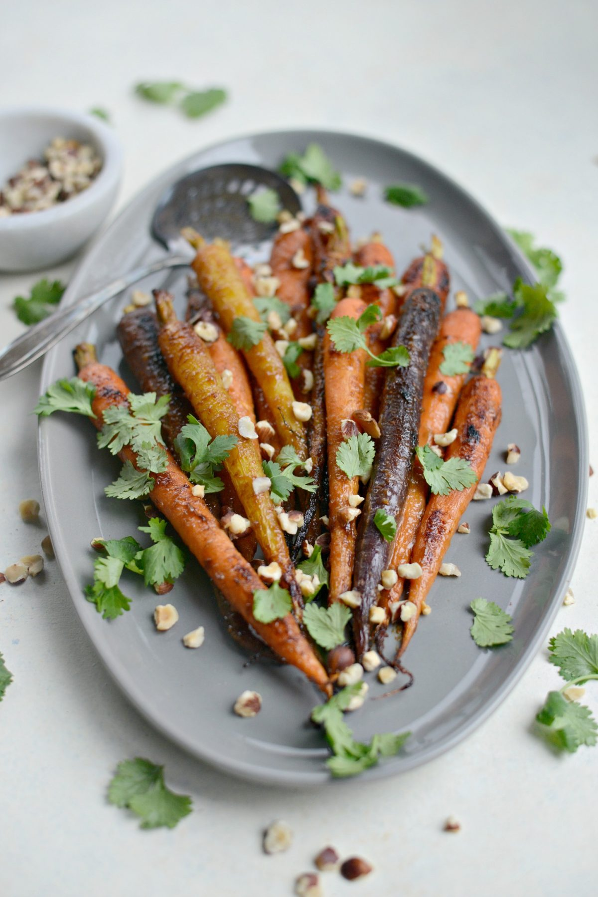 Miso Honey Glazed Whole Roasted Carrots l SimplyScratch.com (12)
