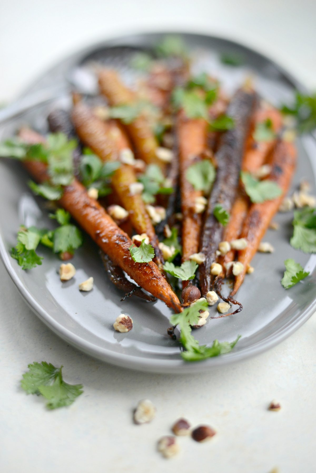 Miso Honey Glazed Whole Roasted Carrots l SimplyScratch.com (14)