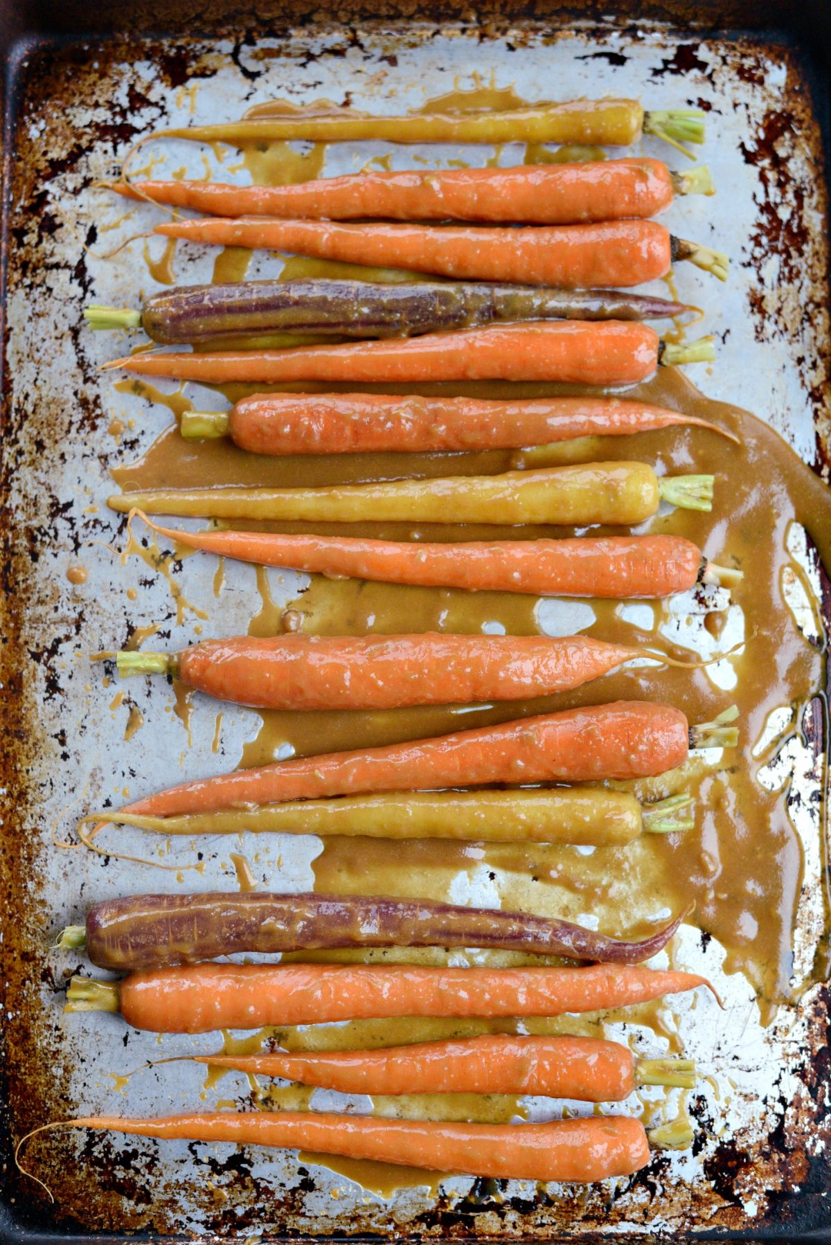 Miso Honey Glazed Whole Roasted Carrots l SimplyScratch.com (15)